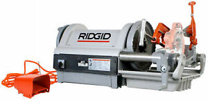 Reconditioned Ridgid 1224 Pipe Threader 26097 With 744 Reamer 764 Cutter