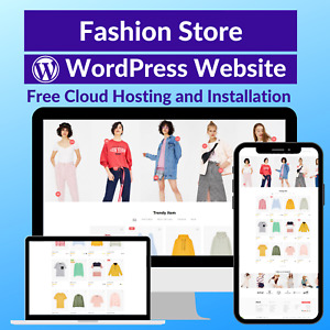 Fashion Sale Business Affiliate Website Store Free Cloud Hosting Installation