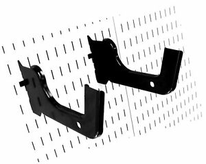 Wall Control Heavy Duty Pegboard Hook Slotted Hook Pair Slotted Metal Pegbo