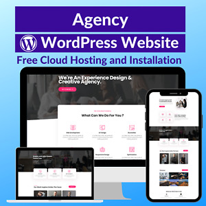 Agency Sale Business Affiliate Website Store Free Cloud Hosting Installation