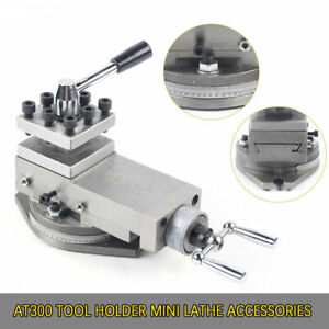 At300 Tool Holder Mini Lathe Accessories Metal Change Lathe Assembly Machine Kit