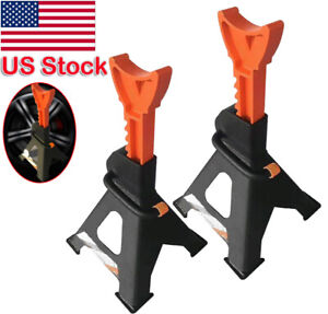 Lot2 Racing Jack Stands 6 Ton 12 000 Lb Heavy Duty For Car Truck Auto Us Local