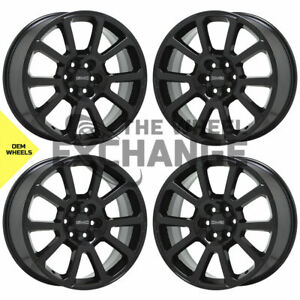 20 Colorado Canyon Truck Black Wheels Rims Factory Oem Set 4 5793
