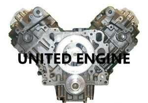 7 3 Diesel Ford Power Stoke T444e 95 02 Remanufactured Long Block Engine