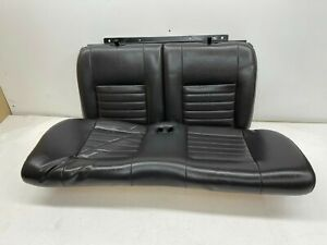 1999 2004 Oem Ford Mustang Coupe Gt Leather Rear Seats Back Seat Charcoal s9218
