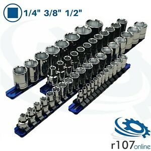 Blue Point Tools 1 4 3 8 1 2 Shallow Metric Sockets As Sold By Snap On