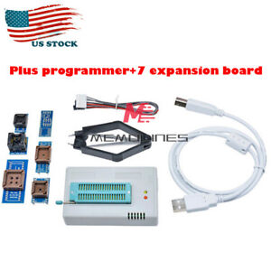 Tl866ii Plus Usb Universal Programmer With 7 Adapters Socket Expanding Board