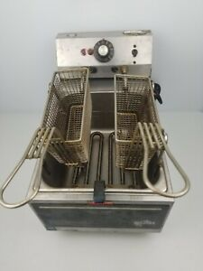 Star Commercial Resturant Deep Fryer Model 510f Electric Counter Top 120 1 8