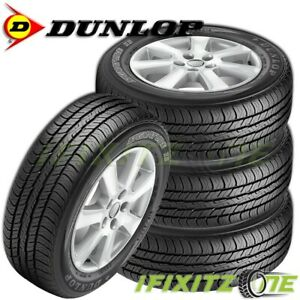 4 Dunlop Signature Ii 215 60r17 96t All Season Performance Tires 65k Mi Warranty