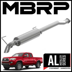 Mbrp 3 Cat back Turn Down Exhaust System Fits 2016 2021 Toyota Tacoma 3 5l