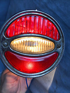 Vintage Antique Buick Tail Light 1930 1931 30 31 Good Working Condition