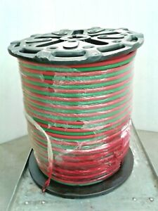 Radnor 64003381 Twin Line Welding Hose T 3 8 In 750 Ft Green Red