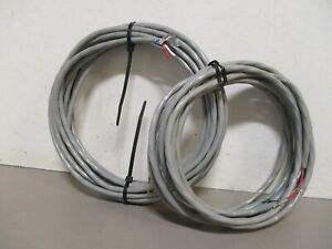 Whelen 3 Wire Shielded Strobe Light Control Cable 1 30 Cable 1 15 Cable