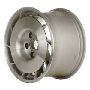 Right Side Alloy Wheel 16x9 5 Silver Machined W machined Hub 10 Slot 5x4 75 Bp