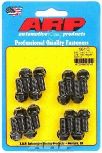 Arp Inc 100 1102 Bb Chevy Ford 3 8in Hex Header Bolt Kit
