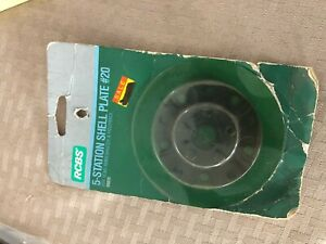 RCBS 5 Station Shell Plate #20 88820 $50.00