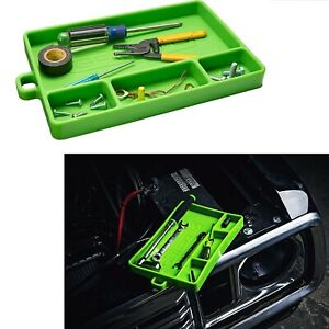 Mechanics Organizer Silicone Tool Tray Flexible No Magnets Grip Mat Heat Resista