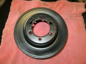 Oem Plymouth Dodge 340 440 Crank Pulley Clean 383 Mopar Cuda Charger Coronet