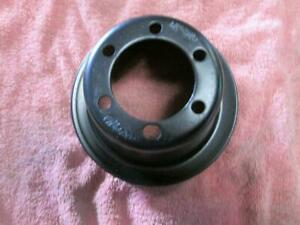 Oem Plymouth Dodge 340 440 Crank Pulley 1 Groove Clean Cuda Charger Mopar Duster