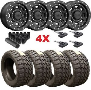 20 Xd Black Wheels Rims 35 12 50 20 Mt Tires Tundra Ram Sequoia Rhino