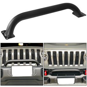 Grille And Winch Guard For Jeep Wrangler Gladiator Jl Jt Replace 82215351