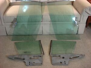 1967 1968 Dodge Plymouth Chrysler C body Glass complete Set 28 000 Miles