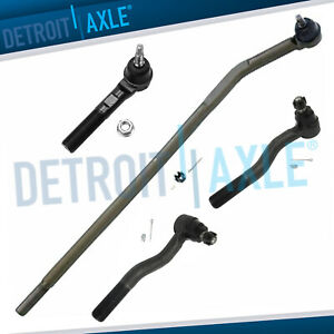 Front Inner Outer Tie Rod Ends For 2007 2012 2013 2014 2015 2016 Jeep Wrangler