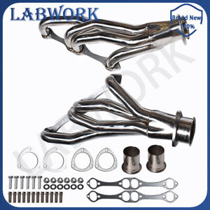 Stainless Racing Manifold Header For Chevy pontiac buick 265 400 Small Block