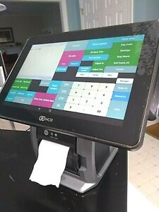 Ncr Silver 7744 1012 8801 Android Tablet Pos Register Printer optional Drawer