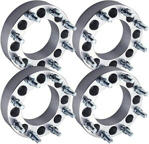 8x6 5 To 8x170 Wheel Adapters Spacers 1 5 Inch Use Ford Wheels On Chevy Gmc Ram