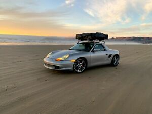 Porsche 986 Boxster Rts Rooftop Transport System Roof Rack Mount b pillar