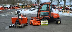 2010 Kubota F3680 Lawn Mower All Attachments Included Just Serviced Cab