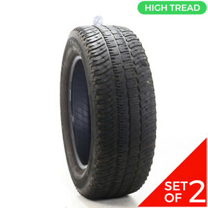 Set Of 2 Used 275 60r20 Michelin Ltx A T2 114s 8 8 5 32