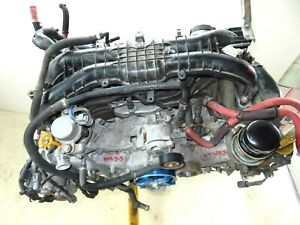 2017 Subaru Wrx Engine 2 0l Turbo Motor 2 0l Vin 1 6th Digit Mt 48k 17