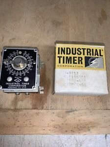 Industrial Timer Corp Csf 5m Industrial Timer 5 Minute 115v Csf J3417 Nos