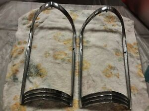 1965 Buick Riviera Front Left And Right Fenders Claim Shell Surrounds Moldings