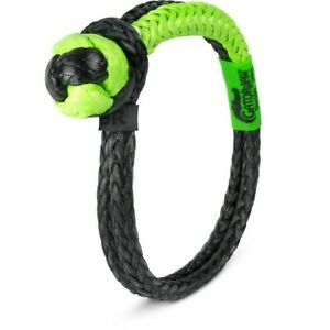 Bubba Rope 3 8 Nexgen Gator Jaw Synthetic Shackle 47000 Pound Breaking Strength