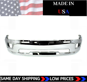 New Usa Made Chrome Front Bumper For 2009 2012 Ram 1500 Ships Today