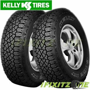2 Kelly Edge A T 235 70r16 106t Owl All Season All Terrain Tires Truck Jeep Suv