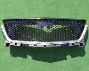 Factory Cadillac Xt6 Grille Grill 2021 2020 Gloss Black Genuine Gm Oem 84758562