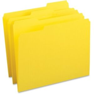 Business Source Color coding Top tab File Folders Letter 8 1 2 X 11 Sheet