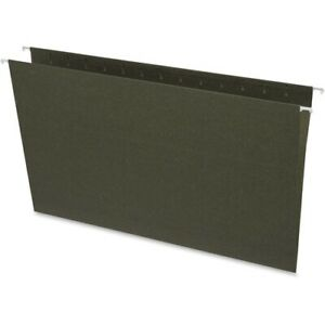 Business Source Standard Hanging File Folders Legal 8 1 2 X 14 Sheet Size