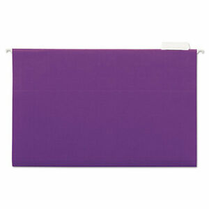 Hanging File Folders 1 5 Tab 11 Point Stock Legal Violet 25 box Unv14220