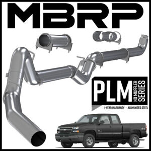 Mbrp 4 Down Pipe Exhaust System Fits 2001 2007 Silverado 2500 3500 Ec cc 6 6l