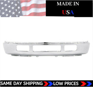 New Usa Made Front Bumper For 2005 2007 Ford F 250 F 350 Super Duty Ships Today