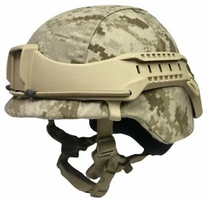 Tan Boltless Helmet Rail NVG Mount System Fits USMC ARMY LWH MICH ACH ECH PASGT $54.00