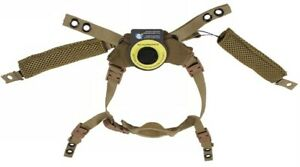 Coyote Brown Ballistic Helmet DIAL Retention System Harness M L XL ACH ECH FAST $59.99