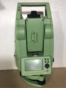 Leica Total Station Tcr407s Power Surveying Instrument