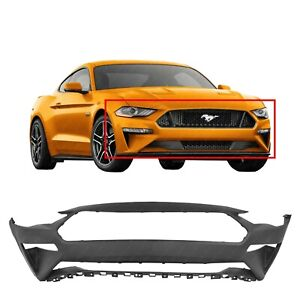 Front Bumper Cover For 2018 2019 2020 Ford Mustang Ecoboost Gt