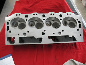 Edelbrock 61555 454 Rect Port Big Block Chevy Marine Head Bare Casting